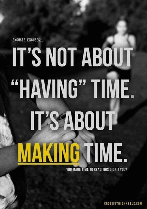 Haz tiempo para correr