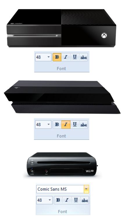 diseño consolas