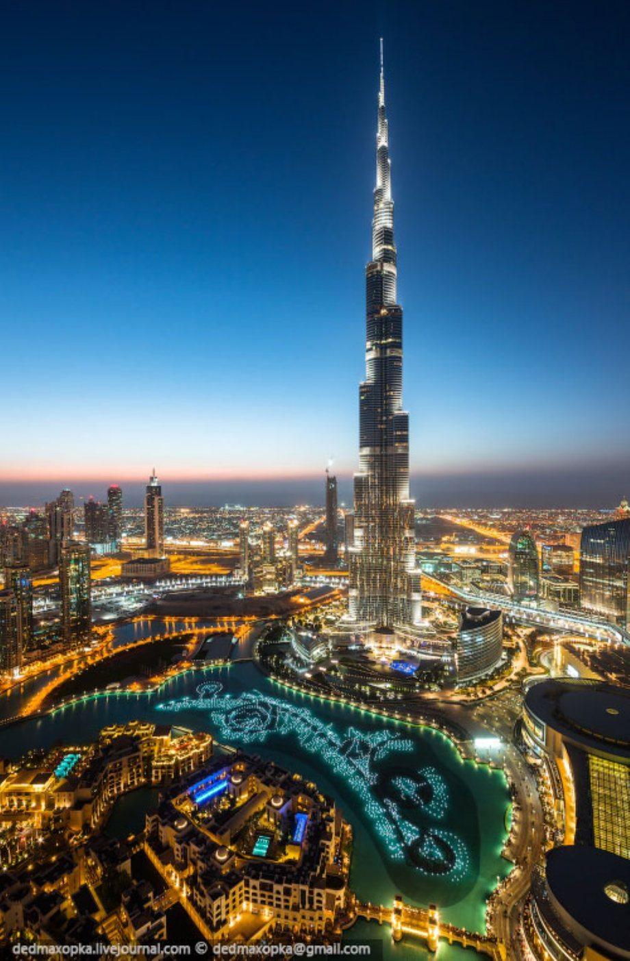 Dubai Desde El Techo