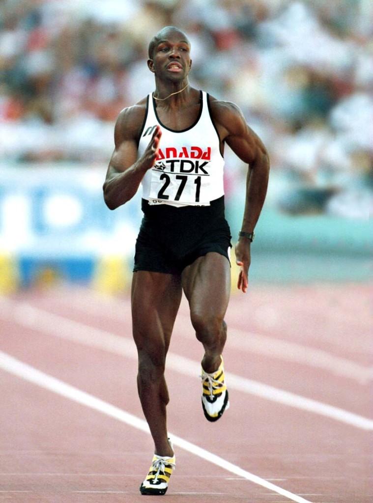 Donovan-Bailey-100-metros-planos-1991