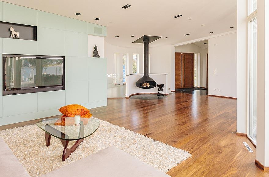 Dise o residencia ultra moderna en estocolmo Disenos de colores para interiores