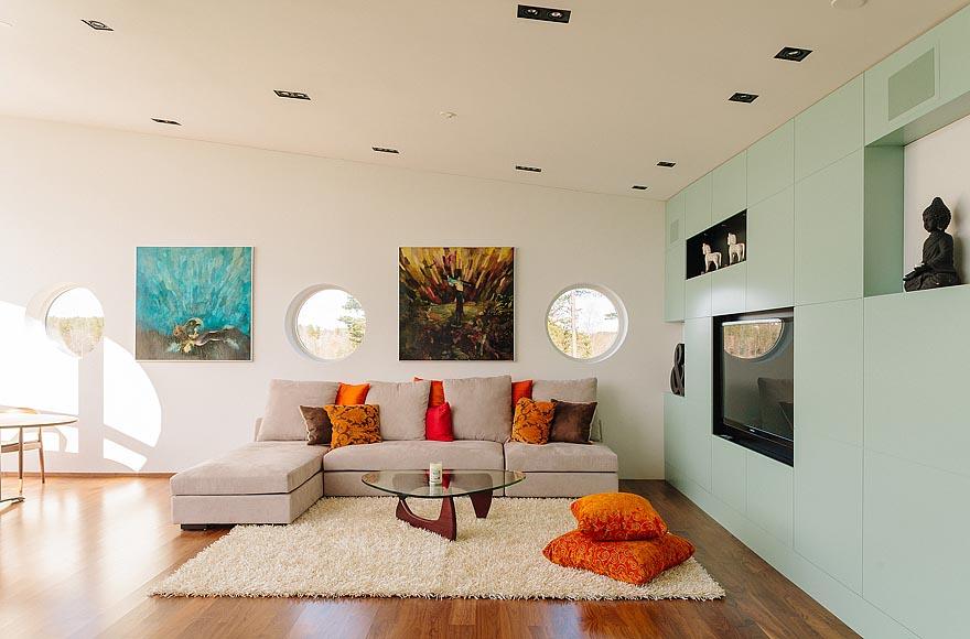 Dise o de fachadas e interiores de casas modernas for Casas de diseno imagenes