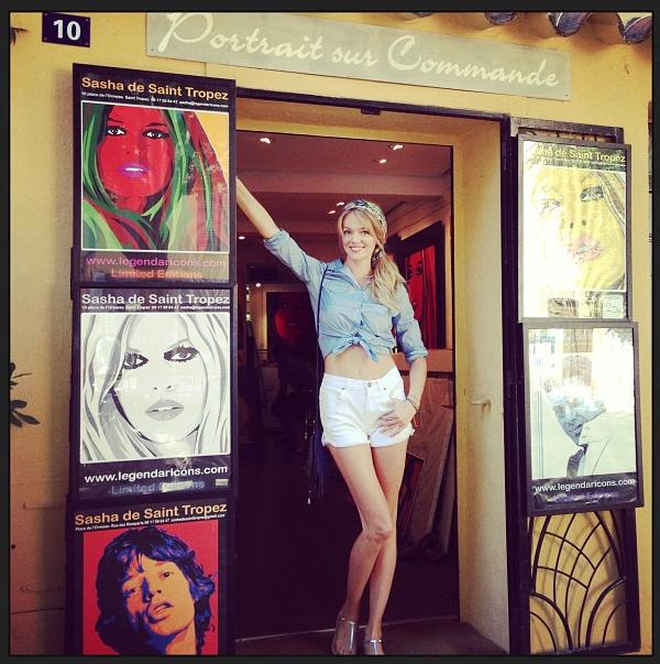 Instagram: Lindsay Ellingson