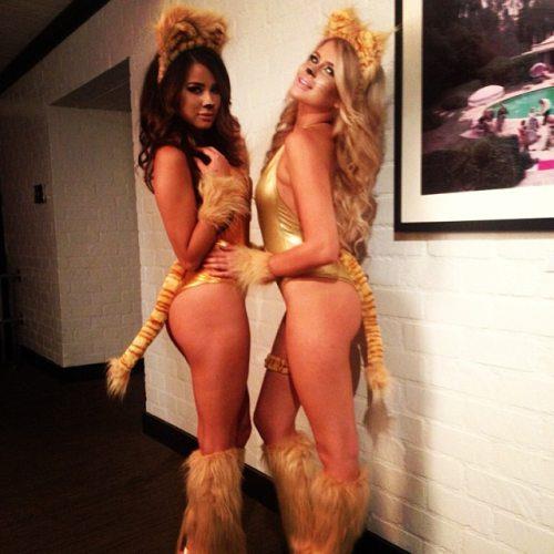 Sexy-Halloween-disfraz-gatitas