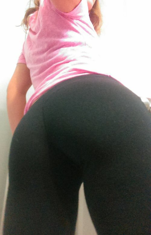 yoga pants torn