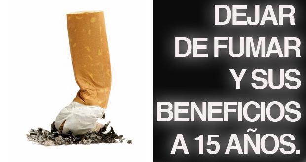 dejar de fumar y sus beneficios