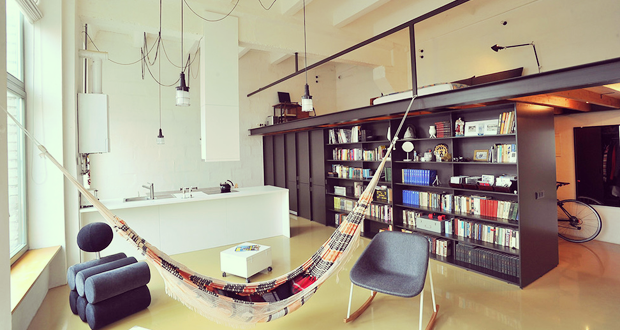 Loft en lituania nos muestra el dise o de interiores for Disenos de departamentos minimalistas