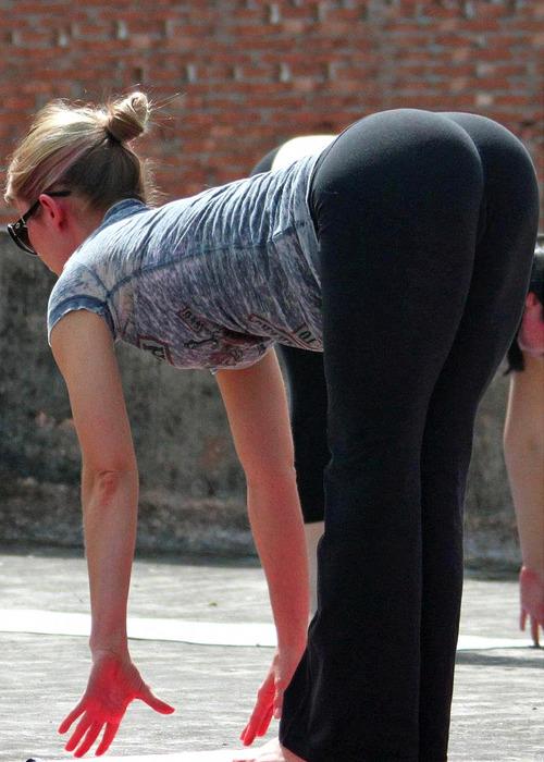 fotos chicas en yogapant