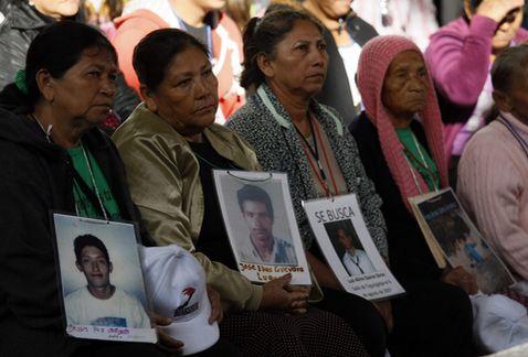 día internacional de los derechos humanos - Caravana de Madres