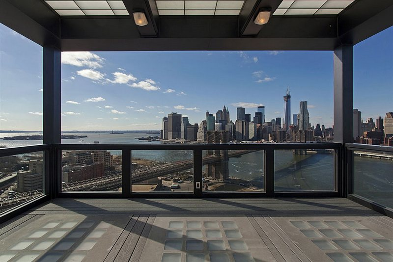 El Penthouse más caro de Brooklyn.