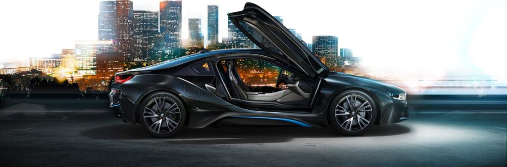 El nuevo híbrido BMW i8 2014.