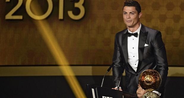 Cristiano Ronaldo es el balón de oro 2013.