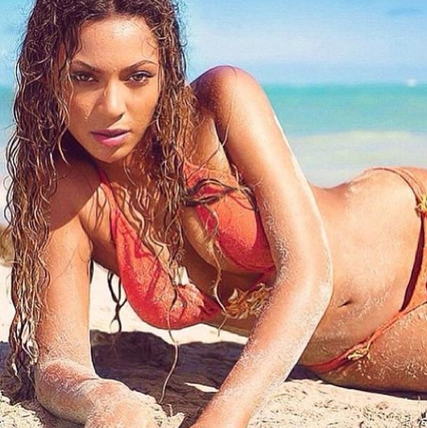 El Instagram de Beyonce tiene un momento sexy.