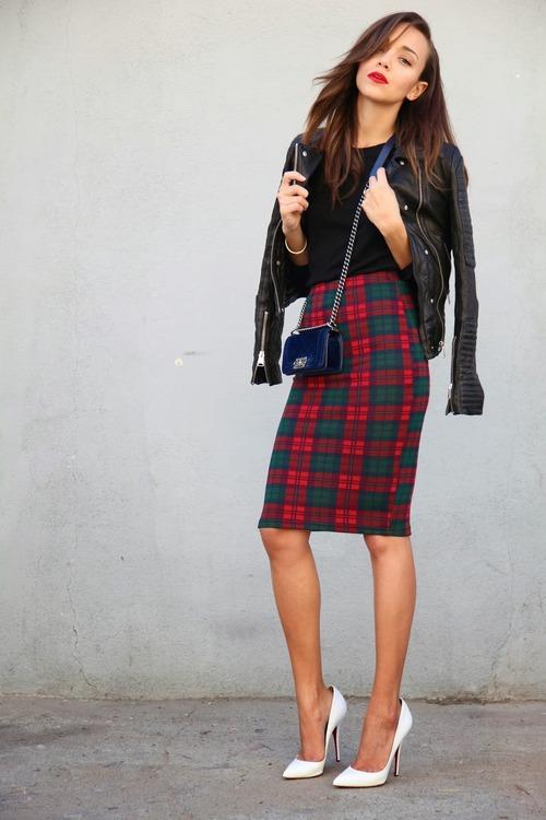 Moda Mujer:  mid length skirts.