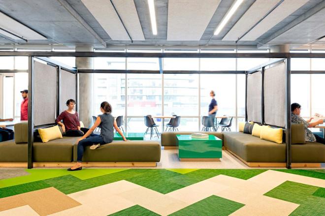 Diseño de Interiores: Tu lunes sería mejor desde estas oficinas.