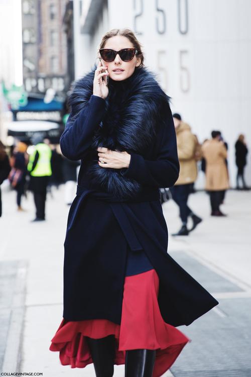 El Streetstyle del #NYFW Olivia Palermo