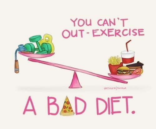 Mitos falsos del ejercicio y dieta