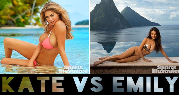 Kate Upton vs Emily Ratajkowski edición #SISwim50