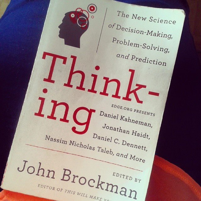 Thinking por John Brockman