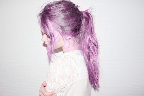 Girls With Light Purple Hair Tumblr Moda: Colores P...