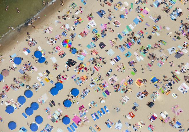 Fotografía aérea de playas alrededor del mundo