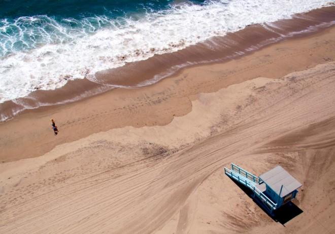Fotos aéreas de playas alrededor del mundo