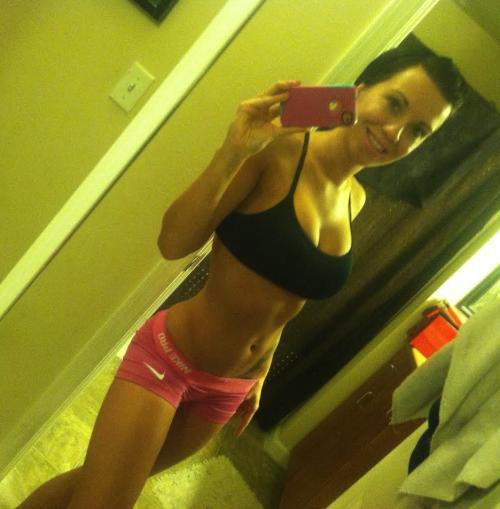 Un #selfie desde el gym para motivarte (32 fotos).