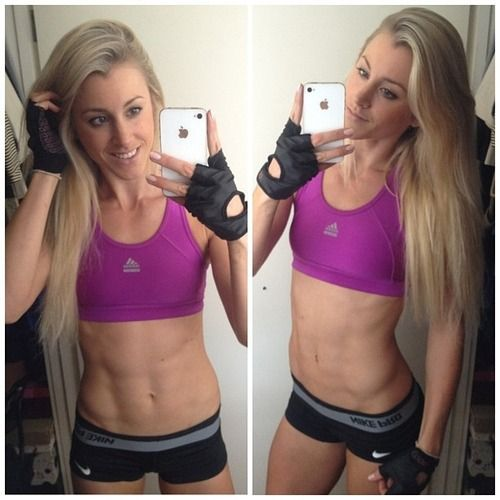 Un #selfie del gym para motivarte (32 fotos).