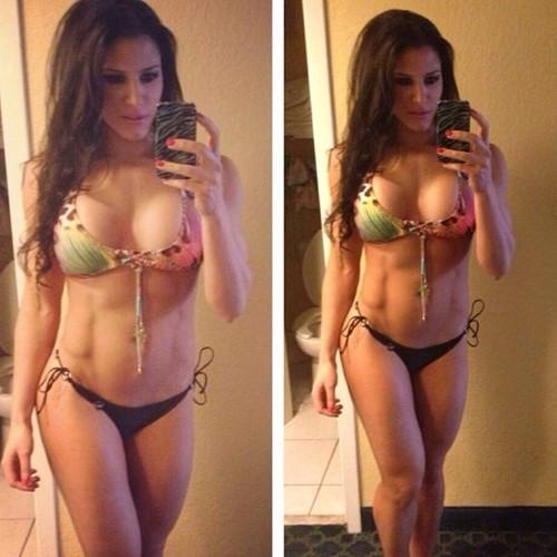 Las chicas del gym en bikini