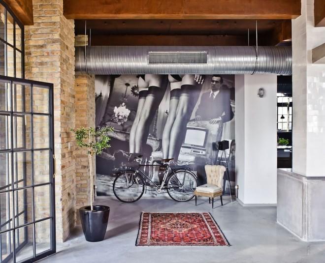 Diseño de interiores - Loft en Budapest