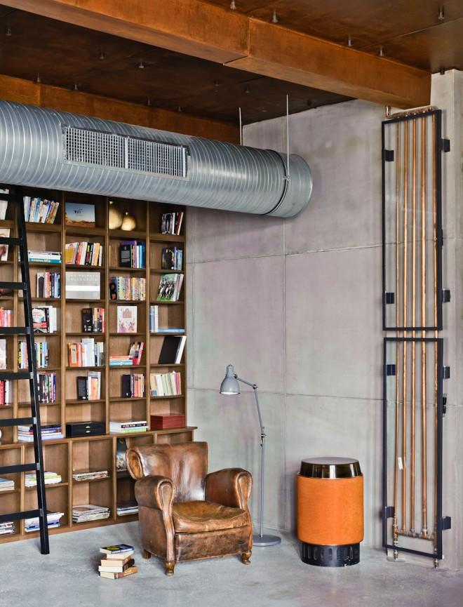 Diseño de interiores - Departamento tipo loft en Budapest