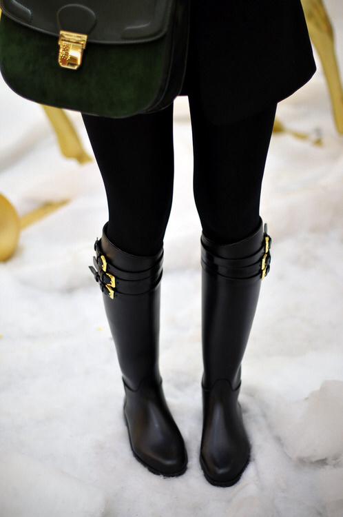 botas para lluvias
