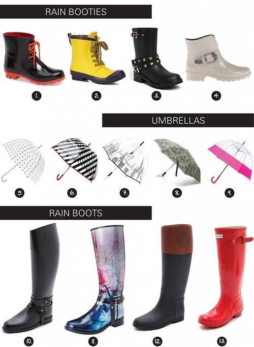 rainy boots 7
