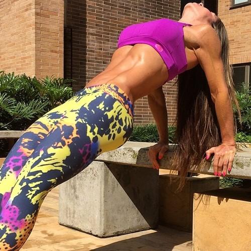 Yoga Pants la inspiración para el ejercicio