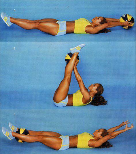 Ellas hacen los mejores ejercicios para abdominales
