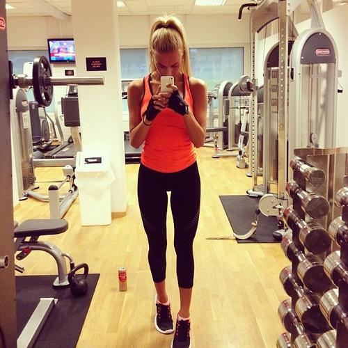 Motivación con las chicas del gimnasio