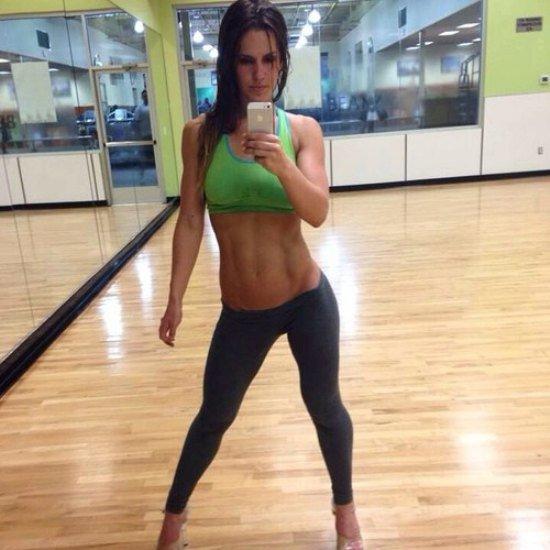 Así enfrentan el calor las chicas del gym