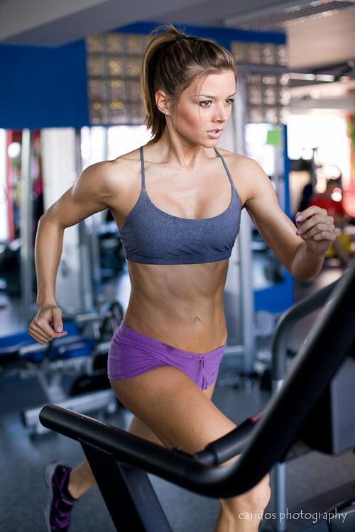 Las chicas del gym corren