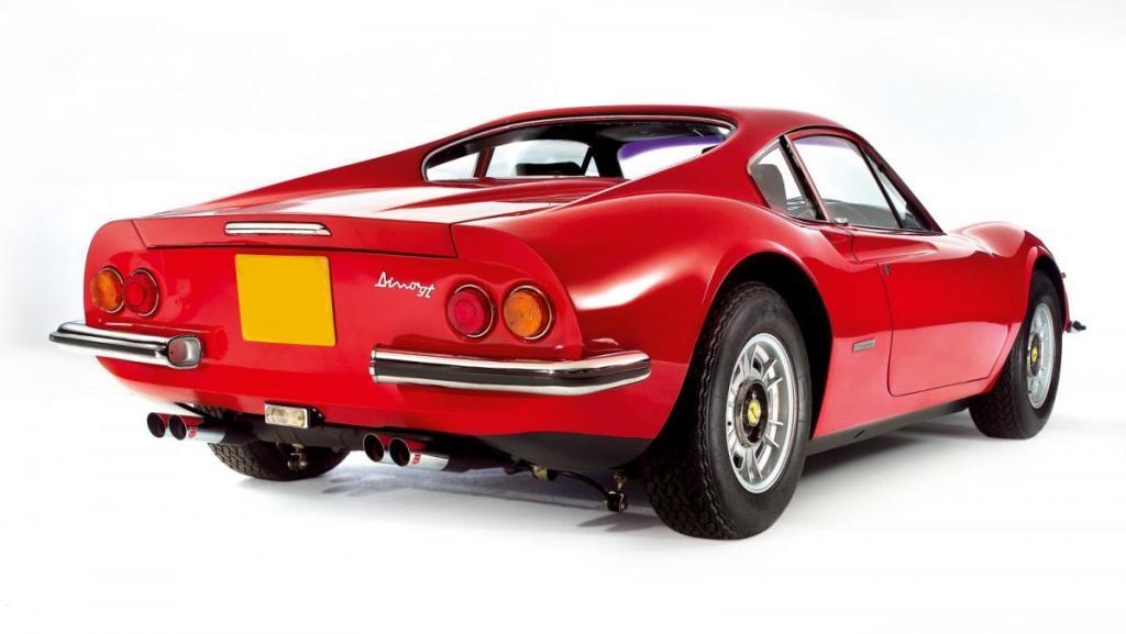 Juguetes de niños grandes: 1973 Ferrari Dino 246 GT