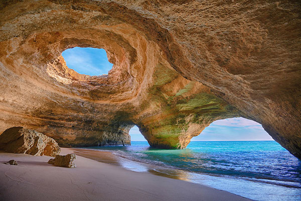 Cave-Beach-in-Algarve-Portugal