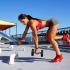 Michelle Lewin la mejor chica del gym
