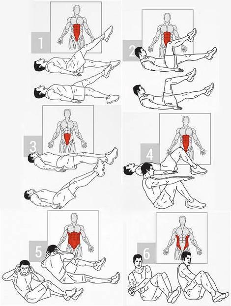 La mejor rutina de ejercicios para el abdomen