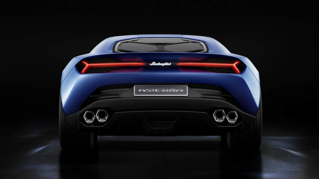 Exótico e Híbrido: Lamborghini Asterion LPI