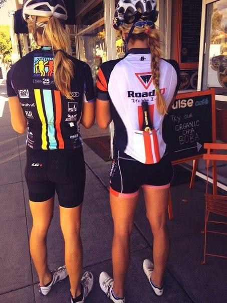 Las chicas del gym y el Ciclismo en entrenamiento