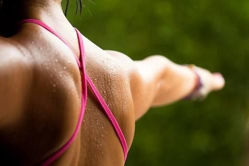 entrenamiento de hombro