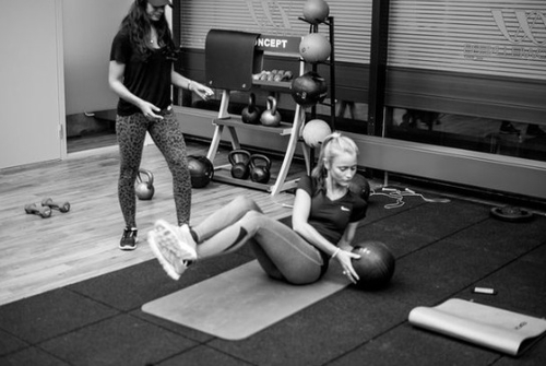 Frases de Fuerza de Voluntad y las chicas del gym