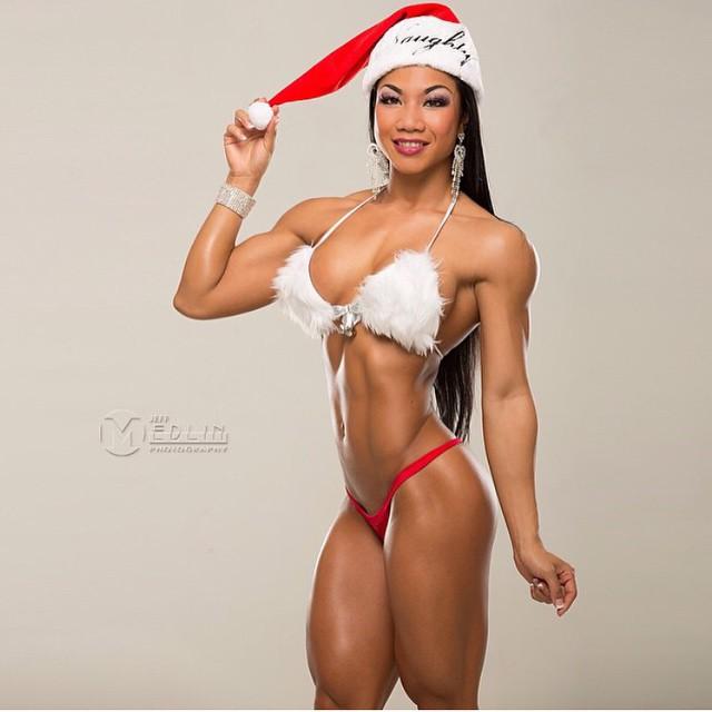En Navidad también hay chicas en nuestro gimnasio