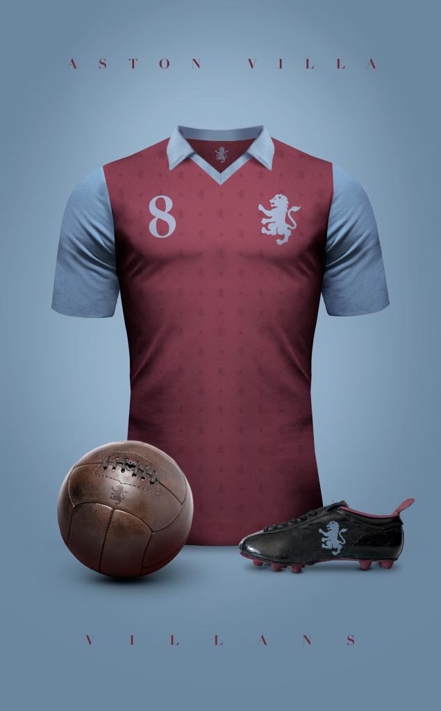 Aston Villa  Fútbol Vintage