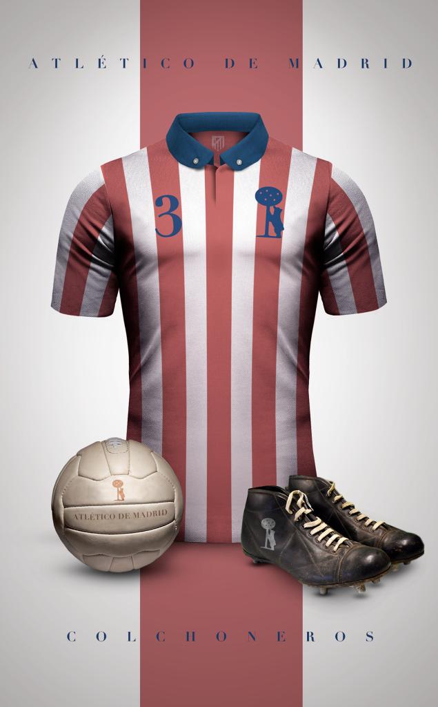 Diseño: Camisetas Fútbol Vintage.