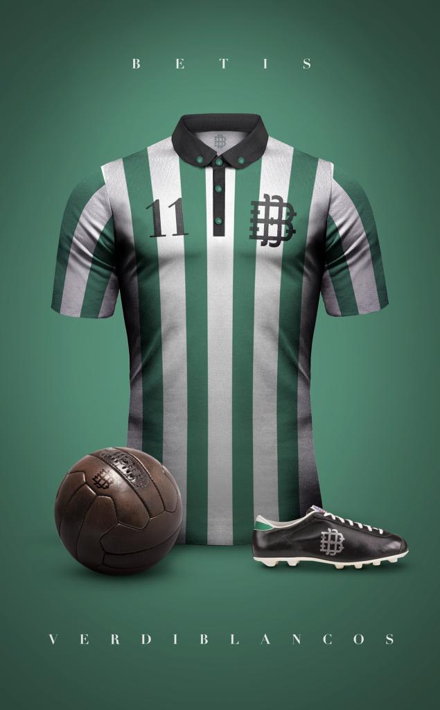 Diseño: Playeras de Fútbol Vintage.